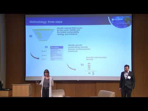 Connecting Climate Strategy to Financial Value - Tensie Whelan, NYU and Nemanja Babic, AT Kearney