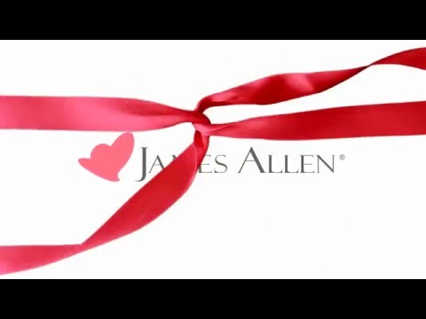 Design Your Own Engagement Ring This Holiday Season on JamesAllen.com