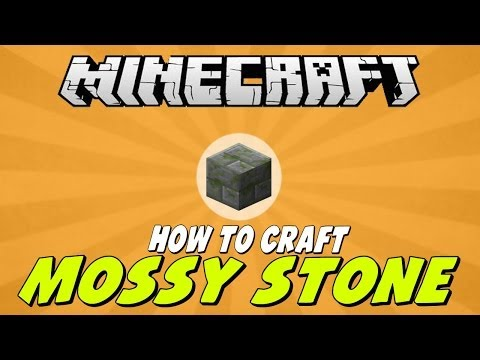 How To Craft Mossy Stone Brick in Minecraft