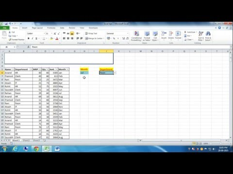 Keyboard Shortcut to Move in Drop Down List in Microsoft Excel