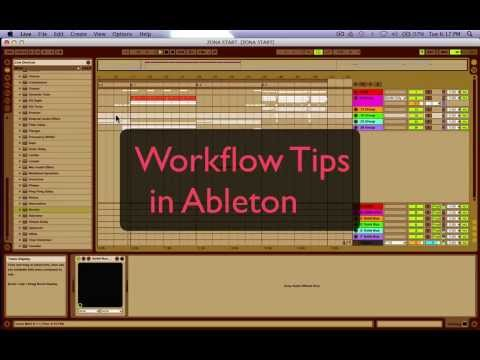 HOW TO IMPROVE YOUR WORKFLOW AND MIXES EASILY
