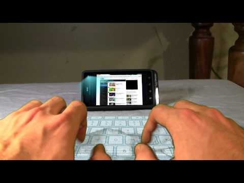 FREE Hologram Keyboard App Review