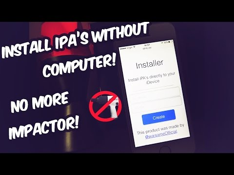 NEW** INSTALL IPA's WITHOUT A COMPUTER?! R.I.P IMPACTOR - iOS 10 - 10.3 (No COMPUTER / No JAILBREAK)