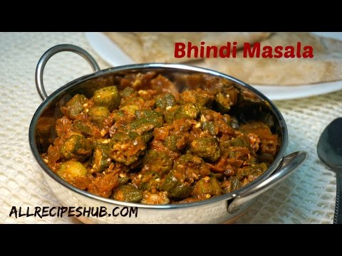 bhindi masala recipe | spicy okra masala | vendakkai Masala
