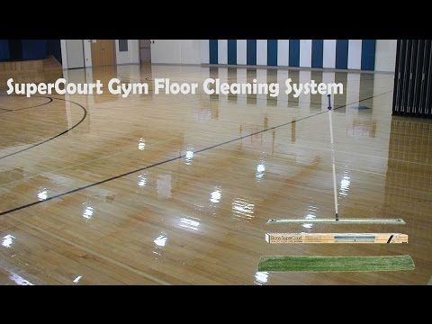 Gym Floor Cleaning System - SuperCourt System