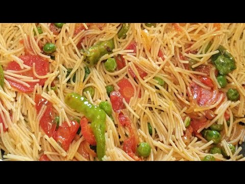 Veg Vermicelli Recipe || Khili Hui Vermicelli Banane Ka Perfect Method || Sanobar's Kitchen
