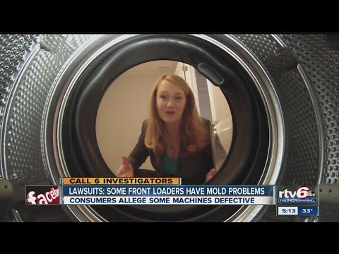 Lawsuits: Many front-load washing machines contain hidden mold