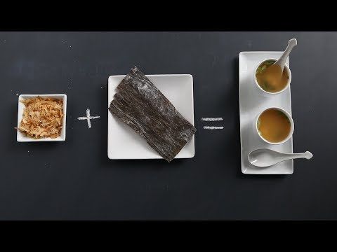 Dashi - An Alternative To Meat-Based Stocks- Kitchen Conundrums with Thomas Joseph