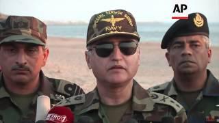 Pakistan navy displays skills during exercises