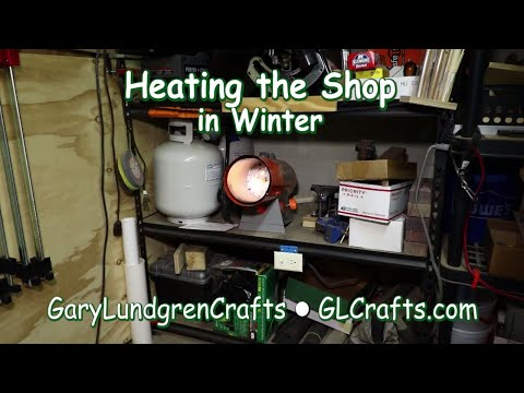 Heating the Shop in Winter Ep.2017-44
