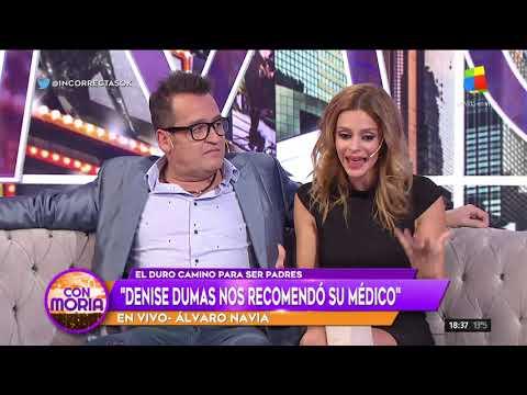 Xxx Mp4 Álvaro Navia Y Vanina Escudero Contaron Cómo Fue El Duro Camino Para Convertirse En Padres 3gp Sex