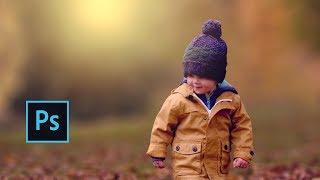 Outdoor Portrait Edit (Child) | Photoshop cc Tutorial