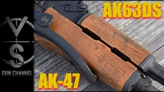 AK63DS Hungarian Under-Folder AK-47