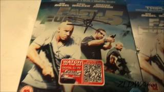 (FINISHED) Fast & Furious 5 with Sung Kang & Vin Diesel's autograph for auction on eBay