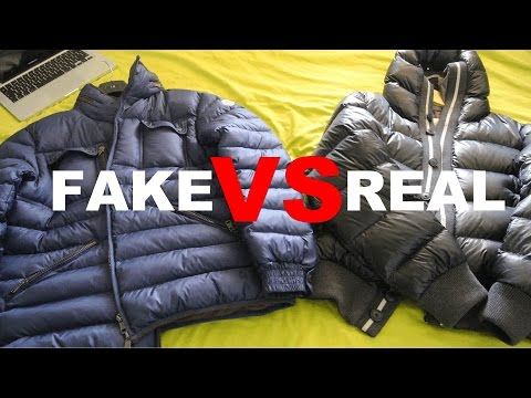 ced97d6870ae FAKE VS REAL MONCLER SKI JACKET COMPARISON REVIEW    SIDE BY SIDE