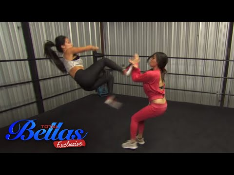 The Bella Twins train together and worry about their