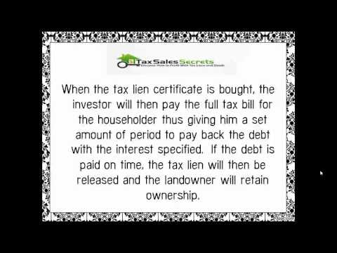 What are Tax Lien Certificates?