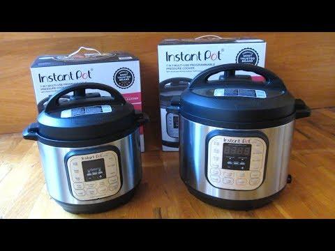 Instant Pot | DUO 3 quart vs 6 quart Size Comparison