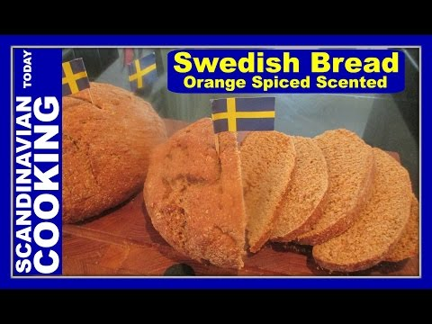 How To Make Homemade Swedish Limpa Bread ♥  A Delicious Holiday Bread Recipe