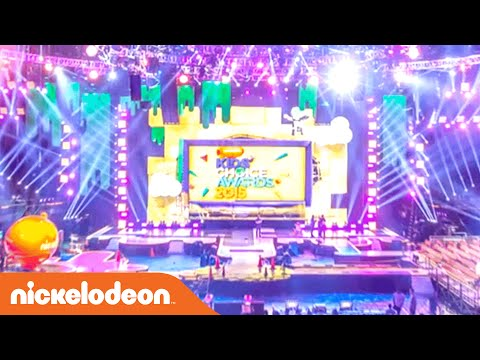 Kids' Choice Awards | How to Build a KCA Stage in 30 Seconds | Nick