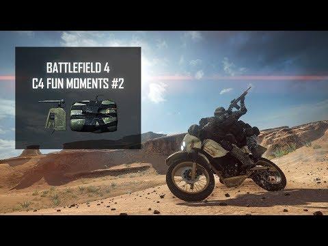 Battlefield 4 - Funny Moments C4, Kill Streak, Multi Kill