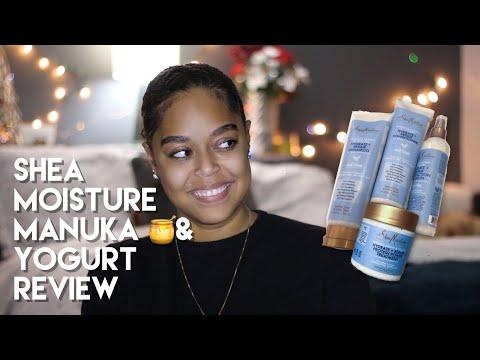 SHEA MOISTURE MANUKA HONEY & YOGURT Demo + Review | Danielle Renée