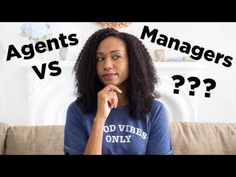 Talent Agents VS Managers! | Acting Resource Guru