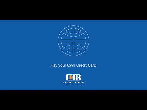 How to Pay your Own Credit Card through Internet Banking