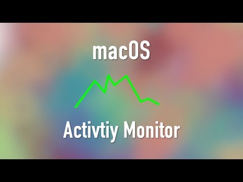 macOS: Activity Monitor