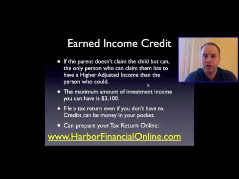 Earned Income Credit in 2012, 2013