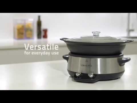 Crock-Pot Digital Saute Slow Cooker, CSC011