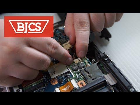 How to install Panasonic Toughbook CF-19 GPS Hardware