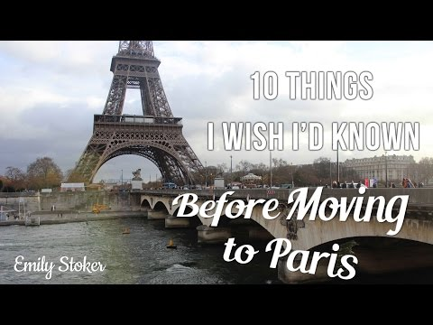 Ten Things I Wish I'd Known Before Moving to Paris
