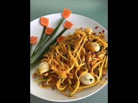 Banh trang tron/Rice paper salad recipe