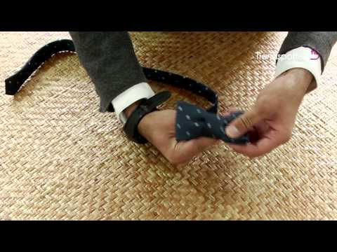 DIY – Convert your Neck Tie into a Bow Tie in less than 2 minutes