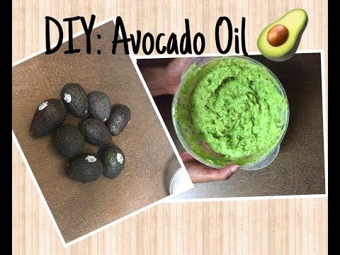 How To DIY: Avocado Oil