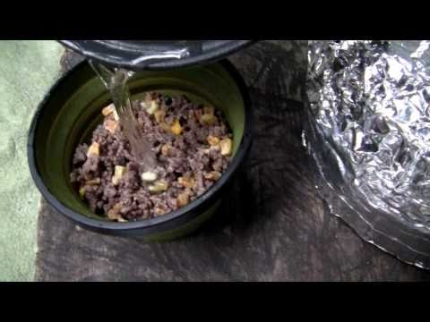 Rehydrated Beef & Bean Burritos