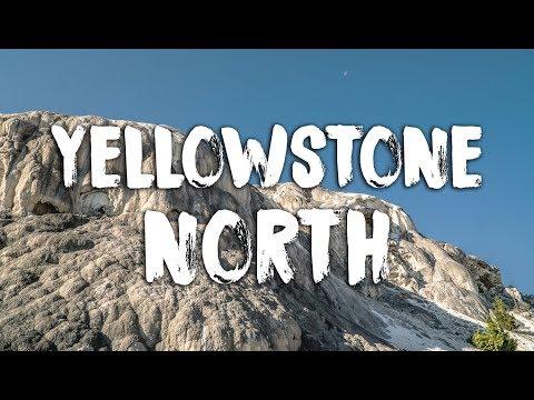 North Yellowstone Boondocking, Terraces & Elk