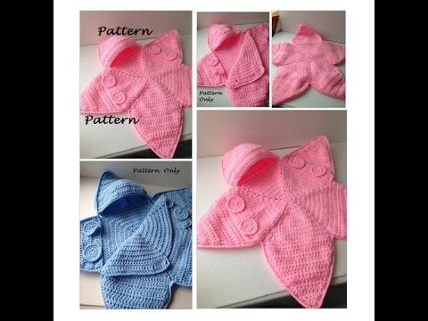 Pattern - Crochet Baby Star Bunting Pattern - Baby Bag