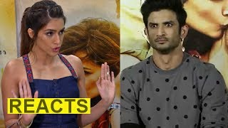 Kriti Sanon's REACTION On Sushant Singh Rajput Being ANGRY And RUDE