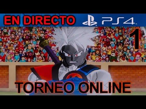 Dragon Ball XenoVerse TORNEO ONLINE PS4 Parte 1 :  Entrenamiento 1   Let's Play en Español  