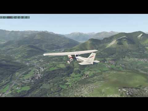 X Plane 11 Béta Tarbes et Pau  Midi Pyrénées