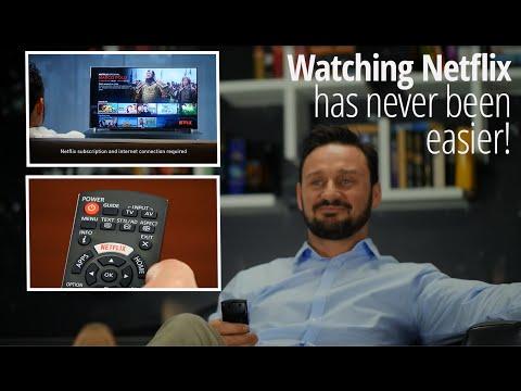 Netflix Made Easy with Panasonic