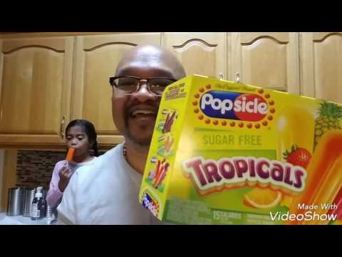 POPSICLE: Sugar Free Tropicals