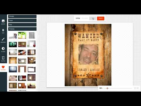 How to Create a Wanted Poster Using Your Own Photo
