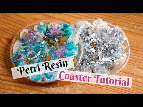 Tutorial: Petri Resin Coasters