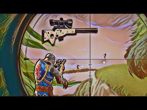 INSANE SNIPER SHOT! (FORTNITE BATTLE ROYALE)