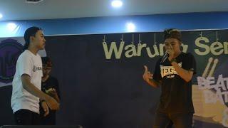 DIMAS (SINGARAJA) VS FAIRUZBX (LOMBOK) | FINAL | WARUNG SENI FEST BEATBOX BATTLE 2016