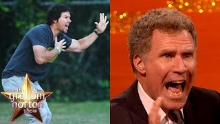 Mark Wahlberg and Will Ferrell Are Bad Soccer Dads - The Graham Norton Show