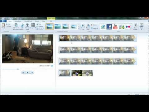 Slow Down and Speed Up Clips in Windows Live Movie Maker